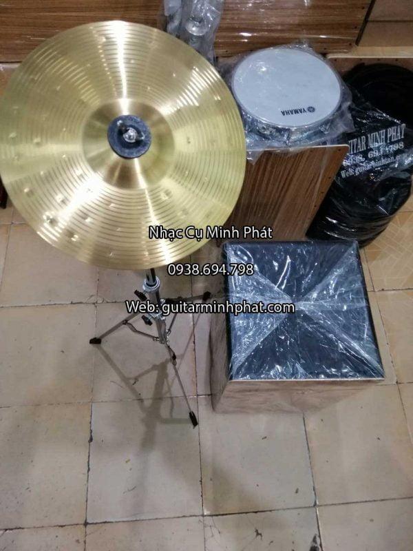 Bộ chân và lá cymbal nguyên sét dành cho trống cajon