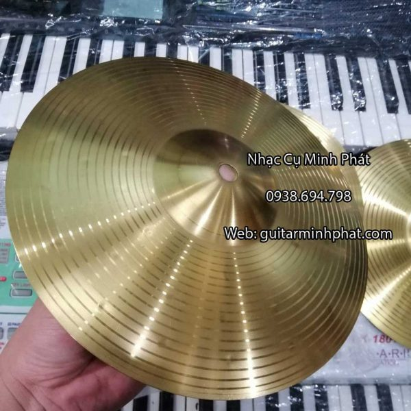 Cymbal chuyên dành cho trống cajon 10 inch