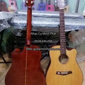 Đàn guitar acoustic gỗ maple được gắn bộ khóa inox đúc nhập khẩu chất lượng