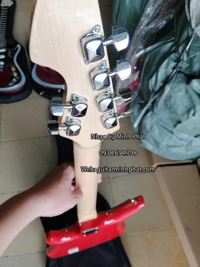Cửa hàng bán đàn guitar điện phím lõm tesco màu đỏ đẹp chất lượng tại tphcm