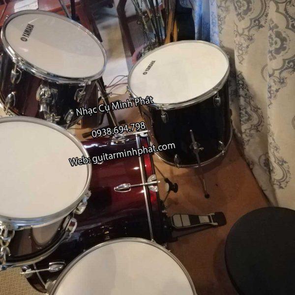 trống jazz yamaha -nhạc cụ minh phát, gồm 5 trống