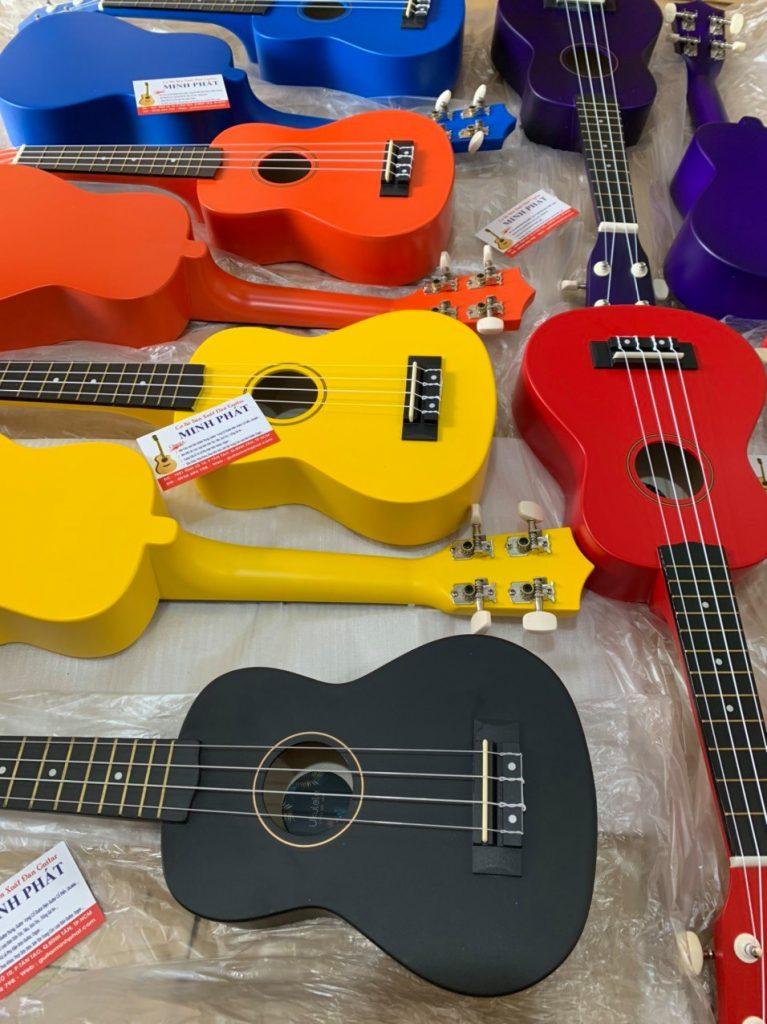 Hình ảnh thực tế các mẫu đàn ukulele soprano chất lượng