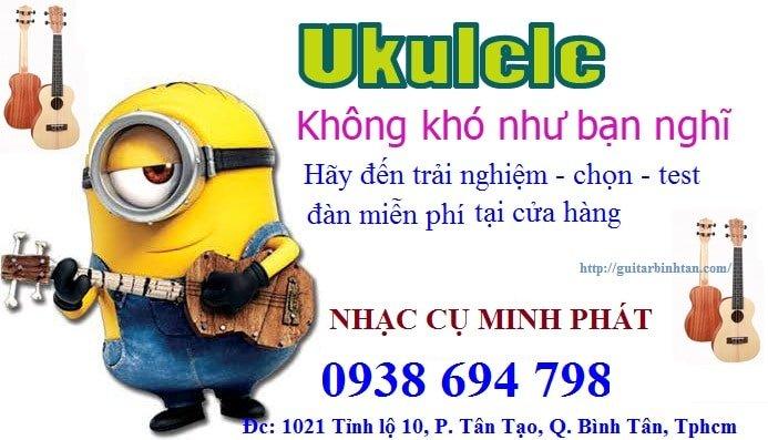 Đàn ukulele giá rẻ tphcm Nhạc Cụ Minh Phát ship hàng đến tận nhà