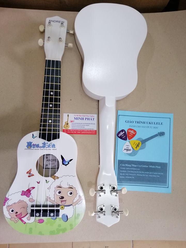 Đàn ukulele giá rẻ cừu trắng tại tphcm