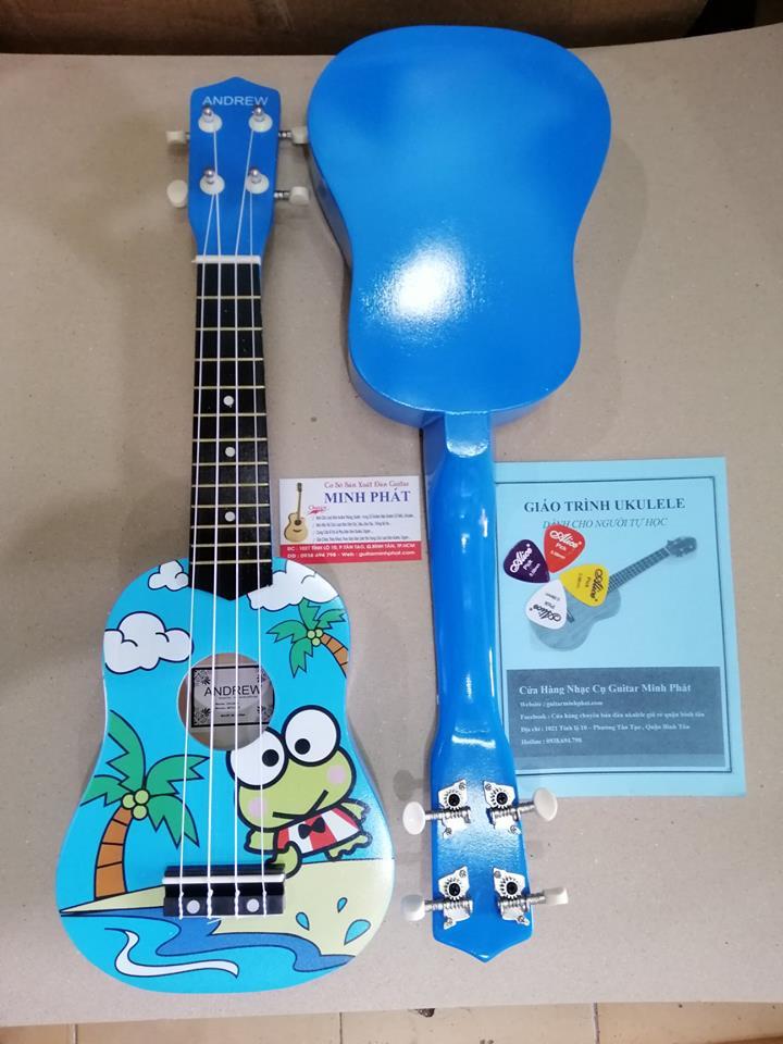 Đàn ukulele giá rẻ chú ếch tại tphcm