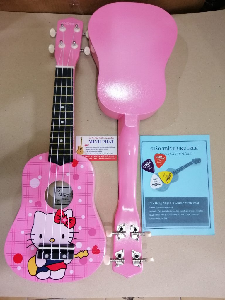 Đàn ukulele giá rẻ hình kitty tại tphcm