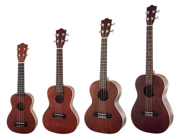 Đàn ukulele có mấy loại nên mua loại nào tốt cho việc học