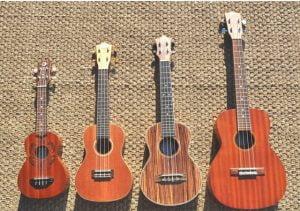 Người mới học Nên mua ukulele soprano hay concert