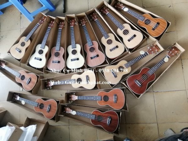 Đàn Ukulele Concert Gỗ Mahogany Deviser