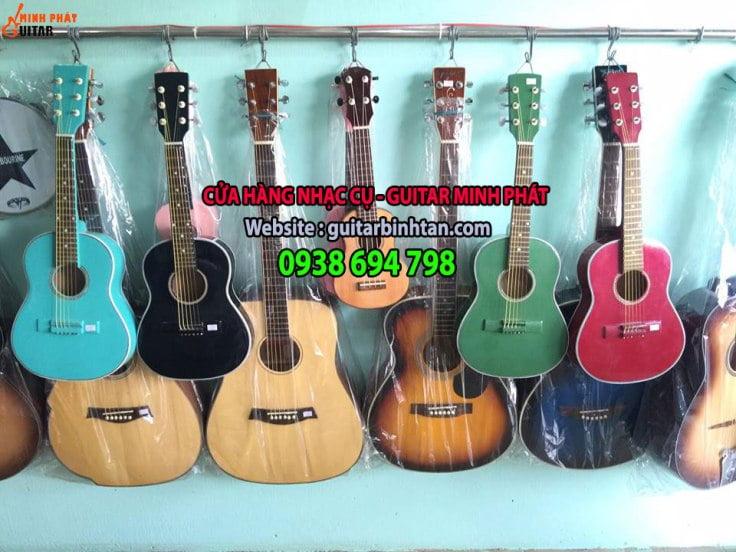 Cửa hàng nhạc cụ tại quận phú nhuận tphcm - nhạc cụ minh phát chuyên mua bán đàn guitar, guitar mini, guitar điện...
