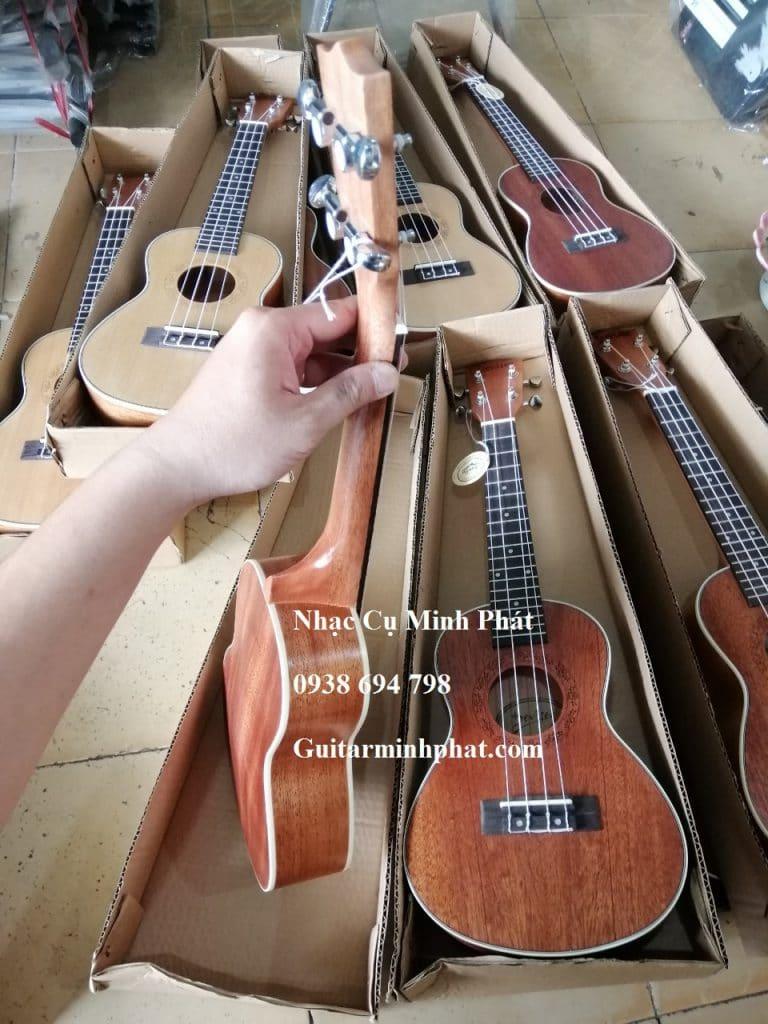 Đàn Ukulele Concert Gỗ Mahogany Deviser - Ukulele Minh Phát tphcm