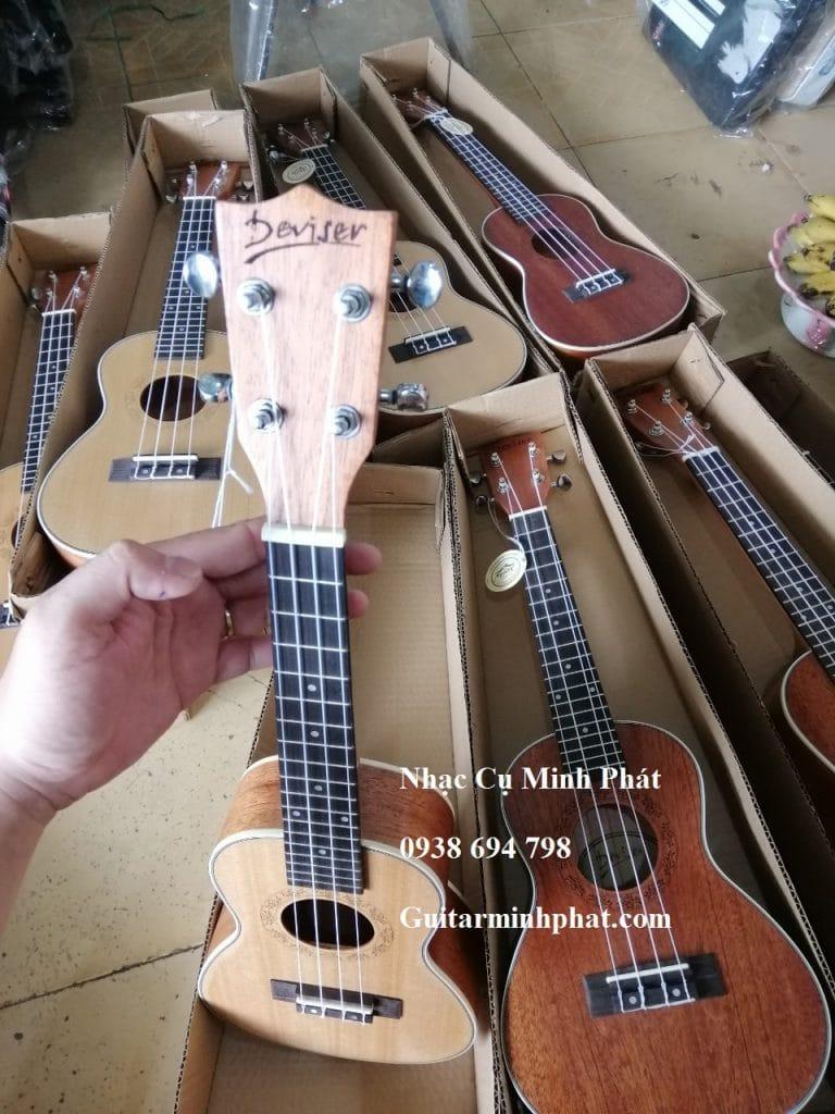 Bán Đàn Ukulele Concert Gỗ Mahogany Deviser - Ukulele Minh Phát tphcm