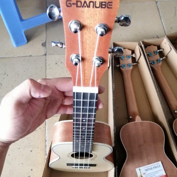 Mua Bán Đàn Ukulele Concert Gỗ Mahogany Thương Hiệu G-Danube - Ukulele Minh Phát