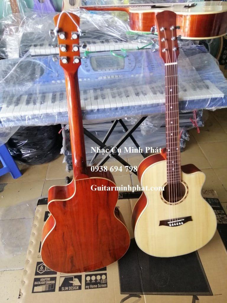 Bán đàn guitar gỗ hồng đào giá rẻ cho sinh viên tại gò vấp - Nhạc Cụ Gò Vấp