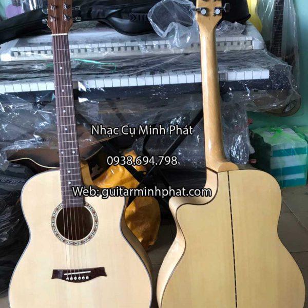 Đàn-guitar-Gỗ-Maple-Mat-Sitka-Spruce