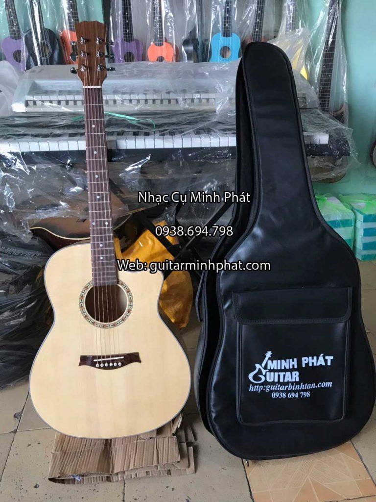 Đàn guitar acoustic gỗ maple giá rẻ tại cửa hàng nhạc cụ Minh Phát tphcm