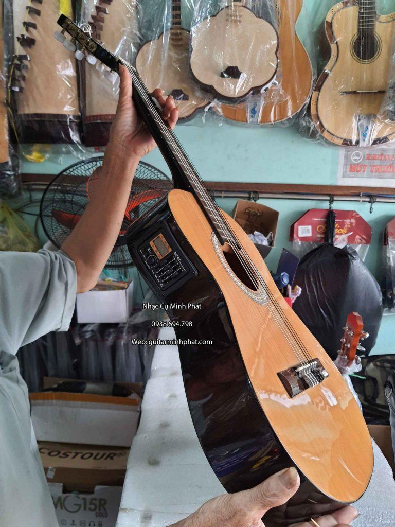 nhận gắn eq guitar classic mini 3/4