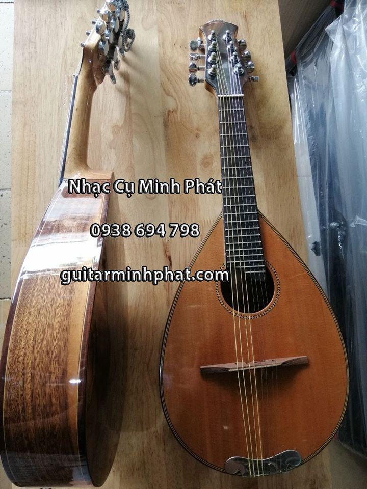 Mẫu đàn mandolin gỗ điệp cao cấp cho chất lượng âm thanh vang và ấm nhất - Mua hàng trực tiếp tại cửa hàng nhạc cụ Minh Phát tphcm