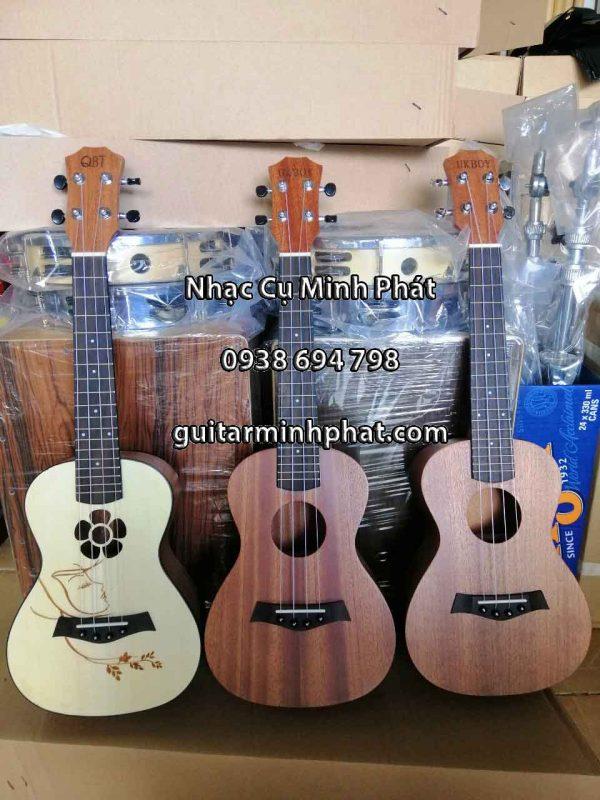 Dòng đàn ukulele size 2 (concert) giá rẻ - Ukulele Minh Phát