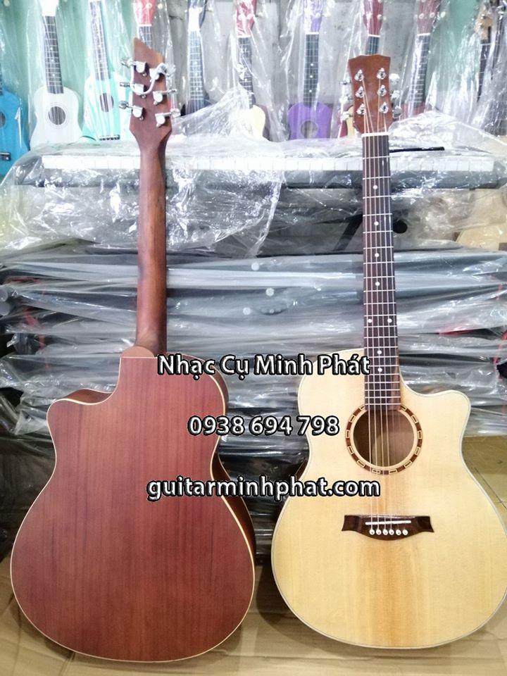 Đàn Guitar HD13A Gỗ Hồng Đào - Nhạc Cụ Minh Phát