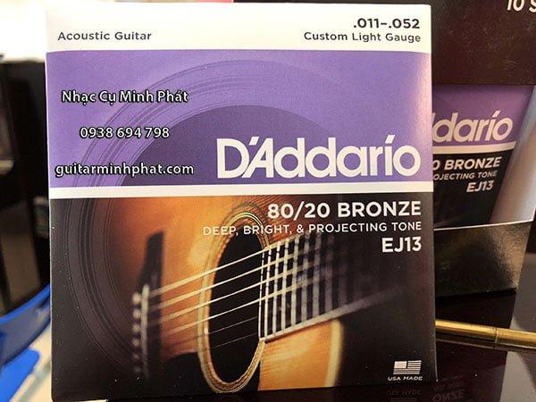 Dây Đàn D'addario EJ13 chính hãng của Mỹ - Nhạc Cụ Minh Phát