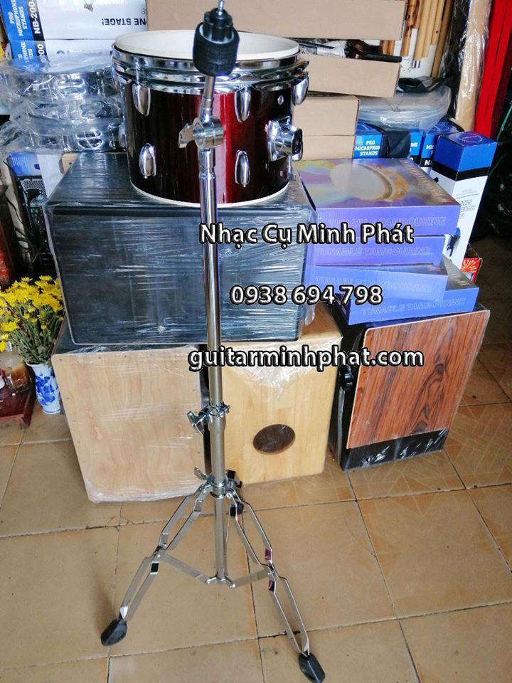 Chân Hi-Hat cho trống Jazz - Chân Cymbal ( Xanh pan ) hàng ngoại Chất liệu: inox dày chắc chắn