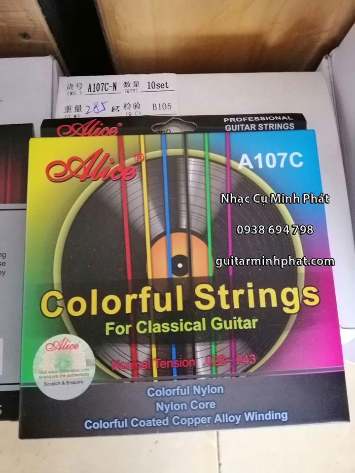 Dây Đàn Guitar Classic Alice A107 Nhiều Màu