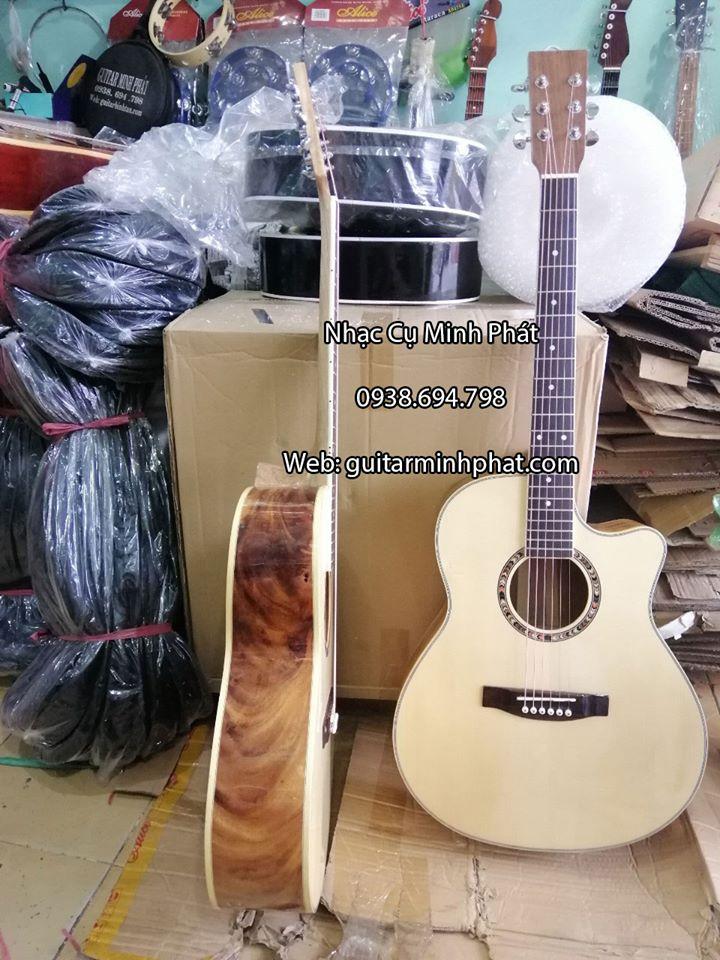 Guitar Acoustic gỗ điệp kỹ cao cấp - shop guitar minh phát tphcm