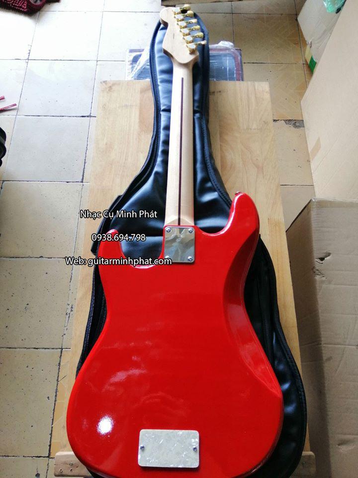 đàn guitar điện fender phím lõm mobi cao cấp âm thanh hay, cần đàn có ty chỉnh chóng cong cần - khóa inox xịn
