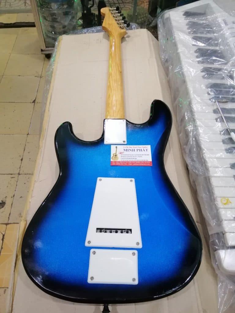 Đàn guitar điện phím lõm - chơi nhạc dân tộc hay đàn cổ điện tặng kèm bao da Tại Sài gòn bình dương thuận an lái thiêu