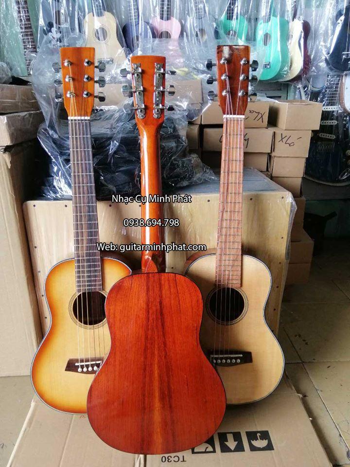 Đàn guitar mini giá rẻ size 1/2 - Mẫu đàn thích hợp để tập chơi, đi du lịch, trẻ em, các bạn nữ tay nhỏ...