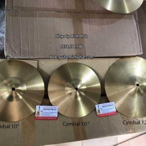 Cymbal cajon 10 inch - Cymbal cajon 12 inch chuyên dành cho trống Cajon