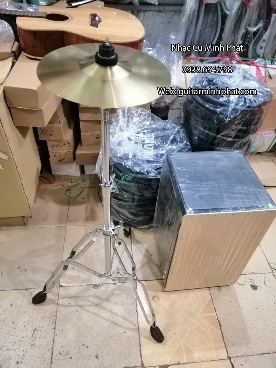 Mua lá Cymbal cajon 10 inch tại Nhạc Cụ Minh Phát