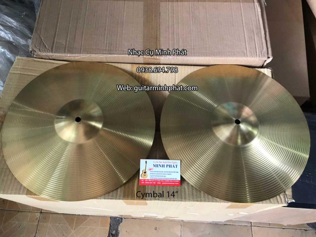 Cặp Cymbal Hihat 14 inch bằng đồng giá rẻ
