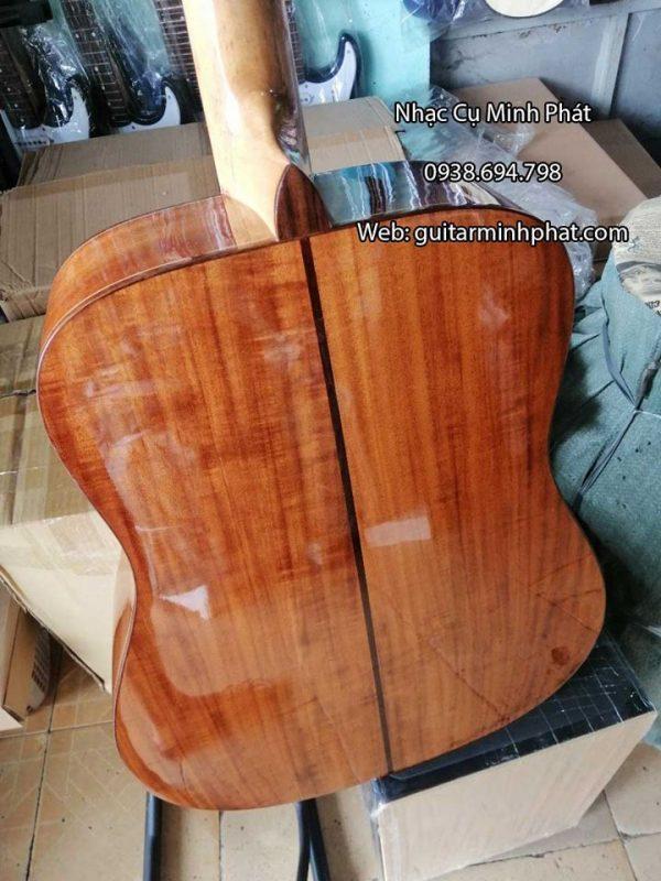 Đàn guitar gỗ KOA cao cấp cẩn xà cừ quanh thùng đàn