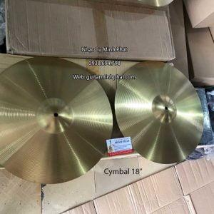 Cymbal XANH PAN 18 inch cho trống jazz