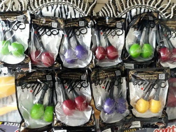 Bán sound eggs các loại mẫu mã, kích cỡ màu sắc đa dạng, sound eggs tròn và sound eggs có tay cầm.