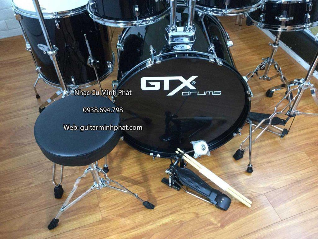 Bộ trống jazz gtx màu đen full 5 trống + hardwware