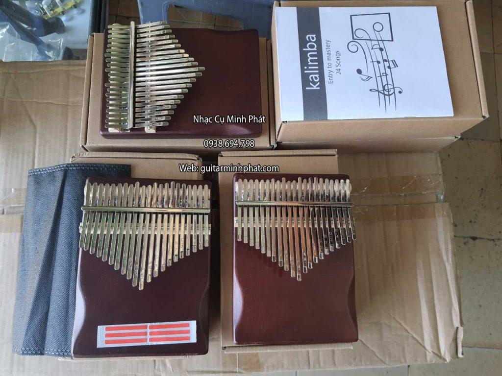 Đàn kalimba 21 phím gỗ tự nhiên nguyên khối. Liên hệ 0938 694 798