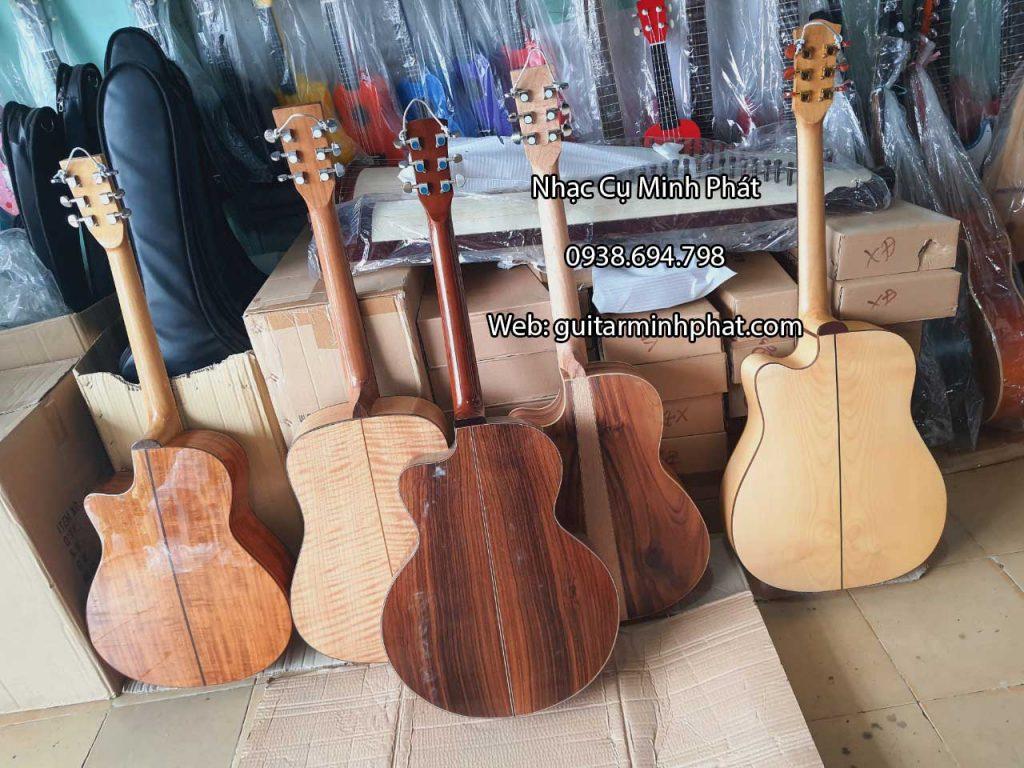 Top 5 mẫu đàn guitar custom cao cấp tại Nhạc Cụ Minh Phát